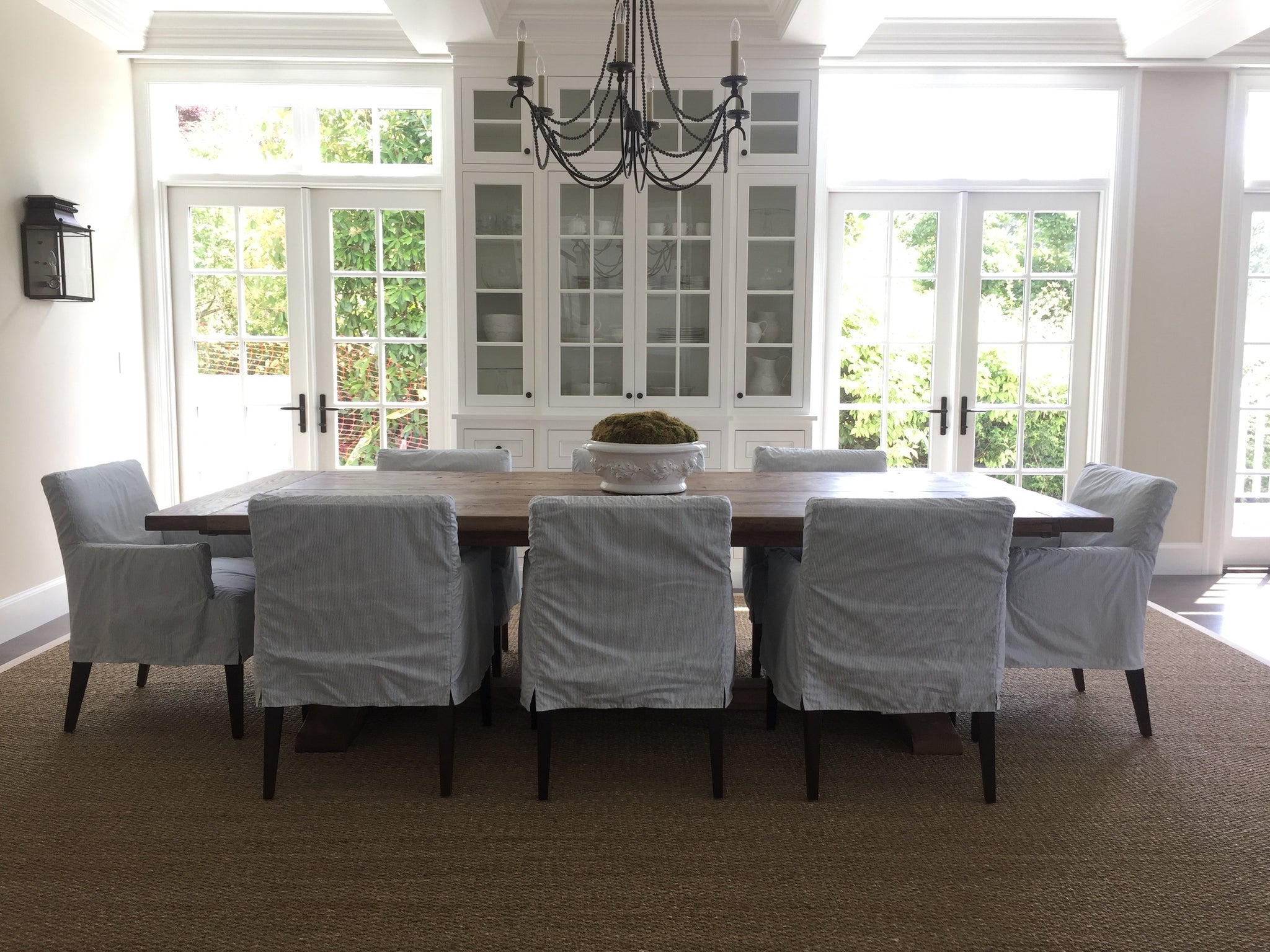 Casual Country Style Dining Room