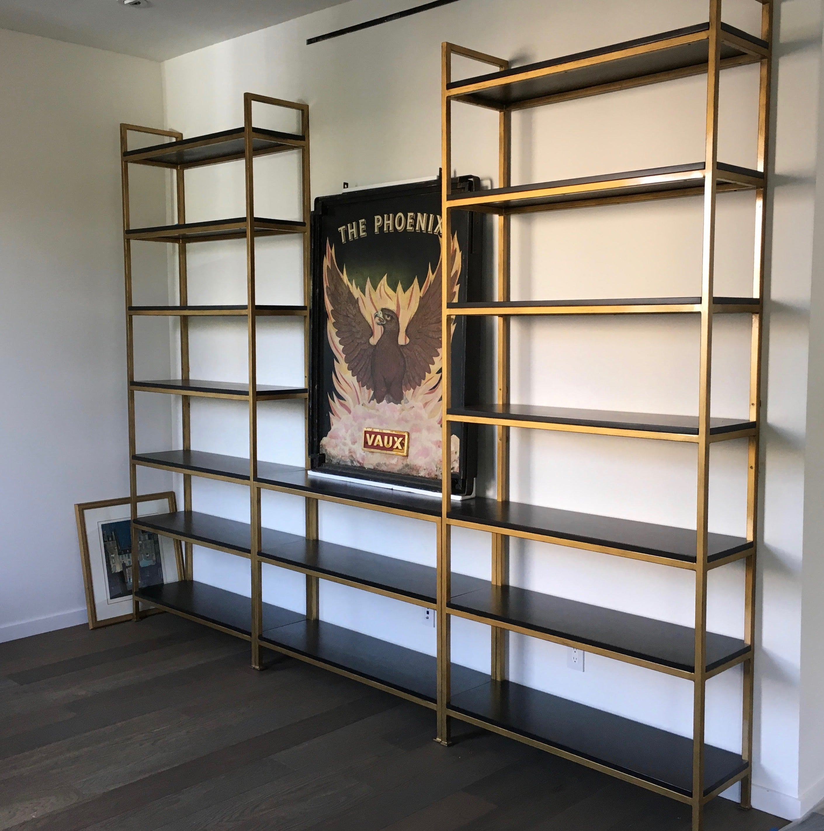 aquarium unit custom shelf tank space bookcase built for display book fish bookcases pin our with