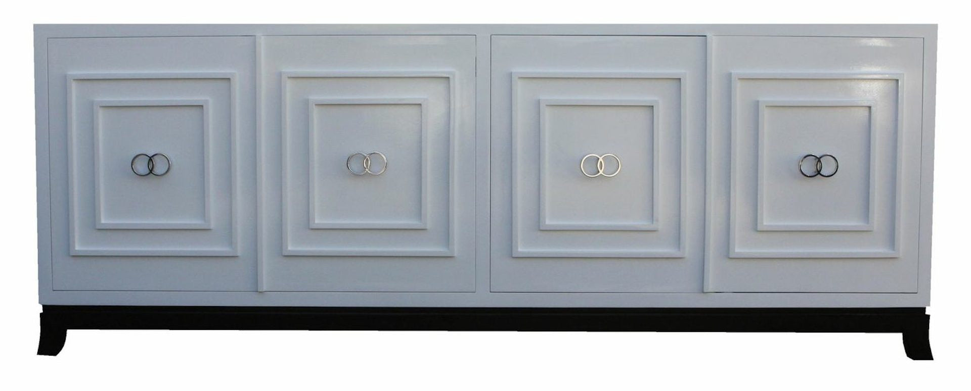 St. Croix Modern White Lacquer Credenza – Mortise & Tenon on modern sideboards and hutches, industrial modern credenzas, country style credenzas, post modern credenzas, modern sideboards with sliding door, made in usa modern credenzas, consoles and credenzas,