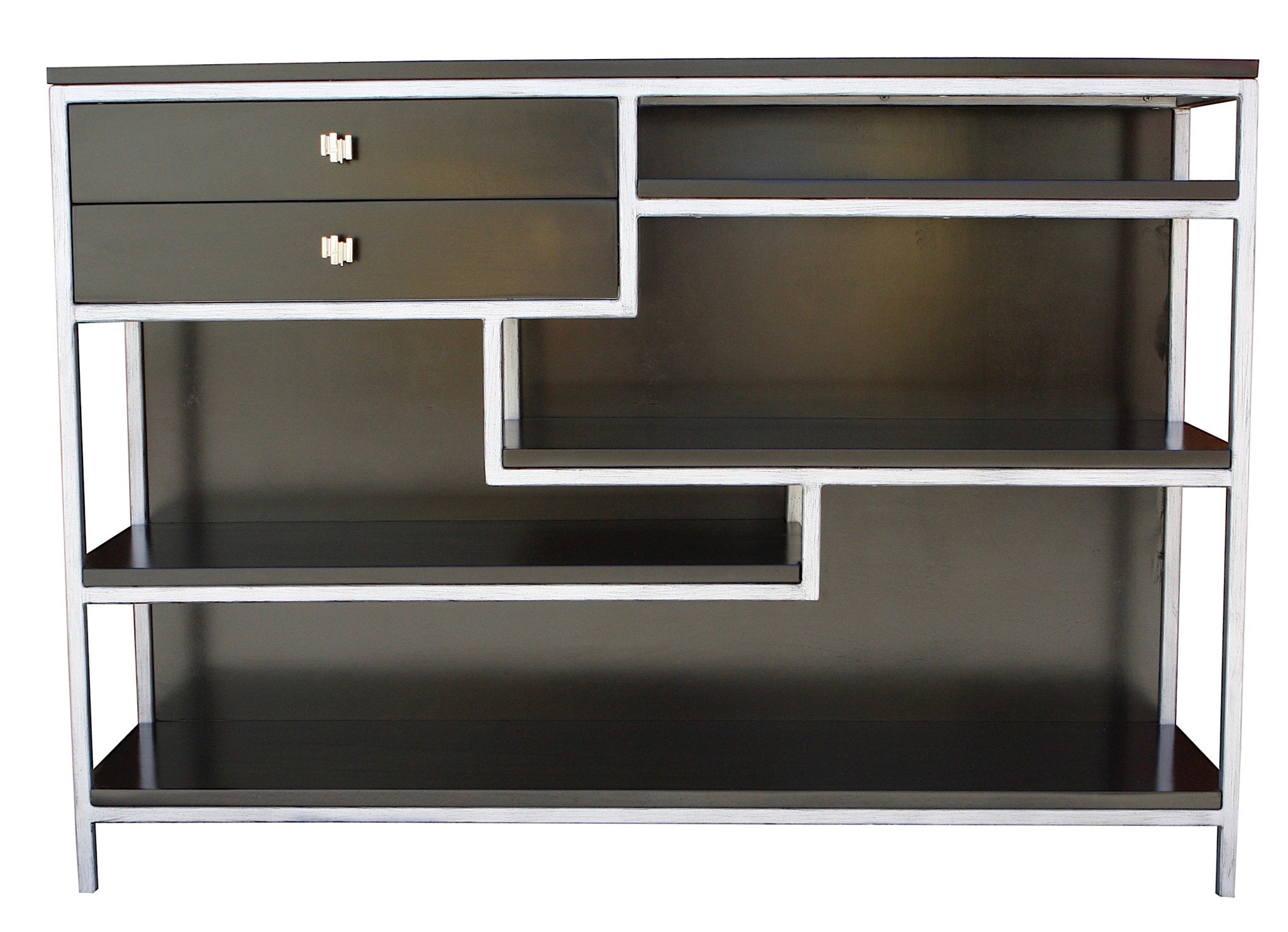 Ziggy Modern Low Bookcase