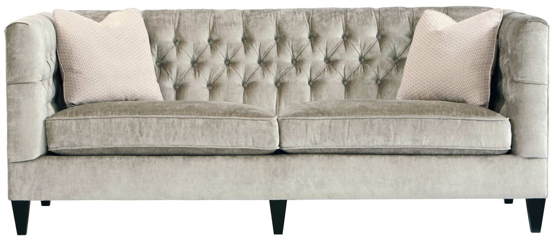Sofa shown in fabric.