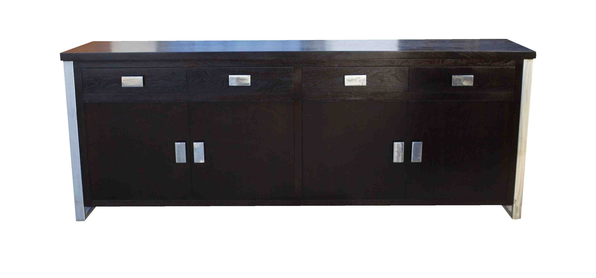 Monroe Modern Walnut Buffet