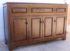 Cabinets with motorized TV lifts