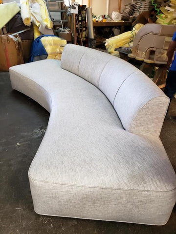 Custom Curved Sofas
