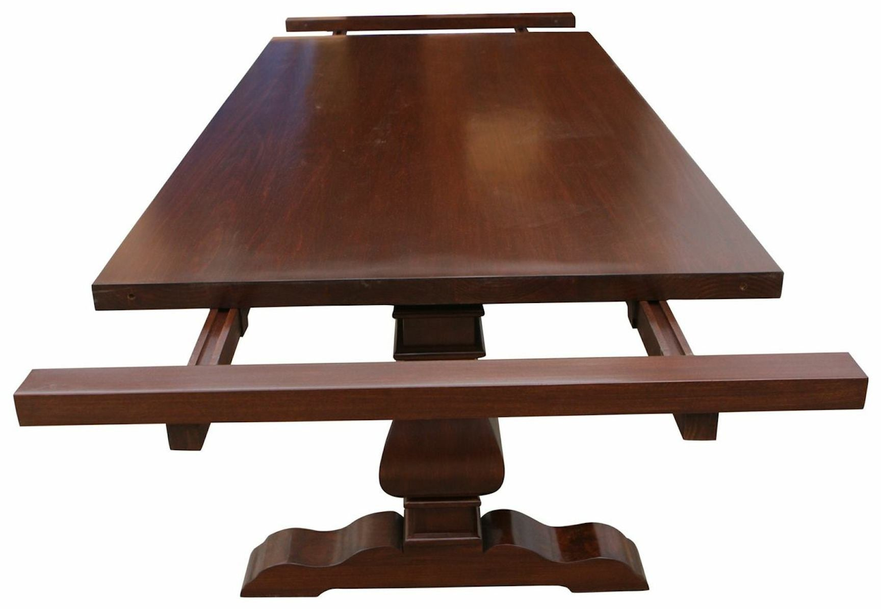 100 Custom Dining Table Dining Room Wicker Dining  : custom extension trestle dining table from 45.77.108.62 size 1728 x 1196 jpeg 106kB