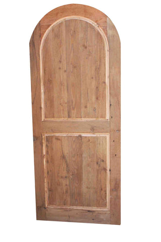 Custom Exterior Doors Built in Reclaimed Wood