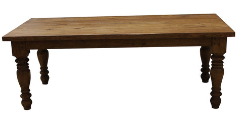Reclaimed Wood Farm Dining Table