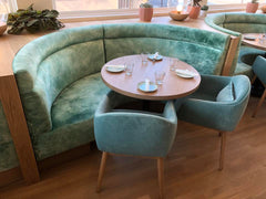 Custom Restaurant Banquette Seating