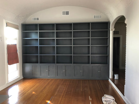 Built-in's - Wall to Wall Bookcase