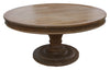 custom made pedestal round table