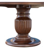 Fluted Pedestal Dining Table