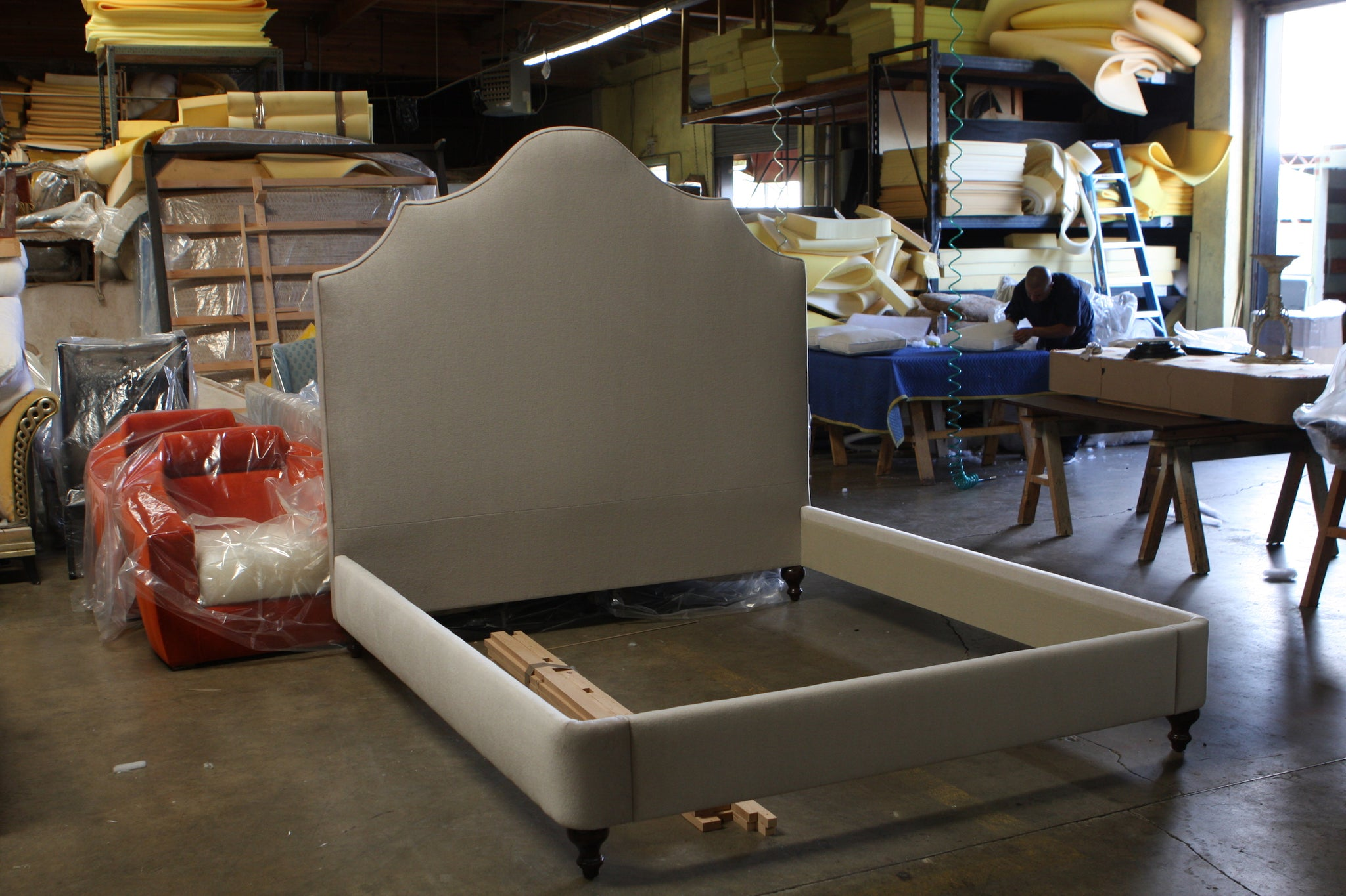 Custom Upholstered bed Projects
