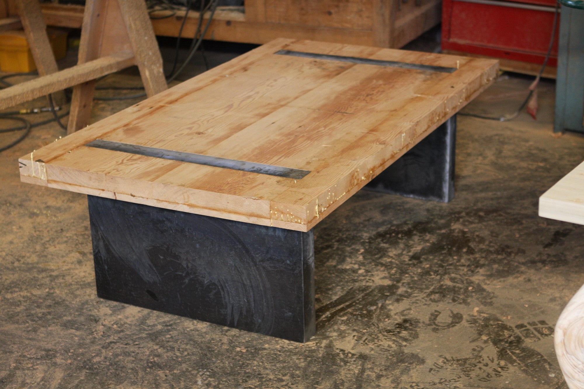 ... Coffee Table Shown Unfinished
