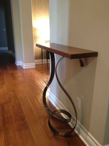 Custom Free Form Entry Wall Console