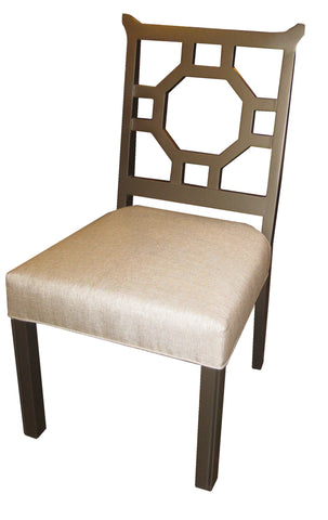 Drake, Geometric Dining Chair