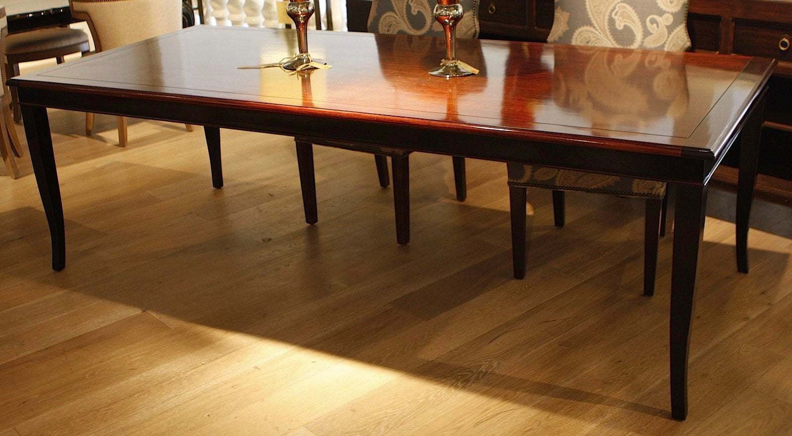 French Dining Table With Center Extensions