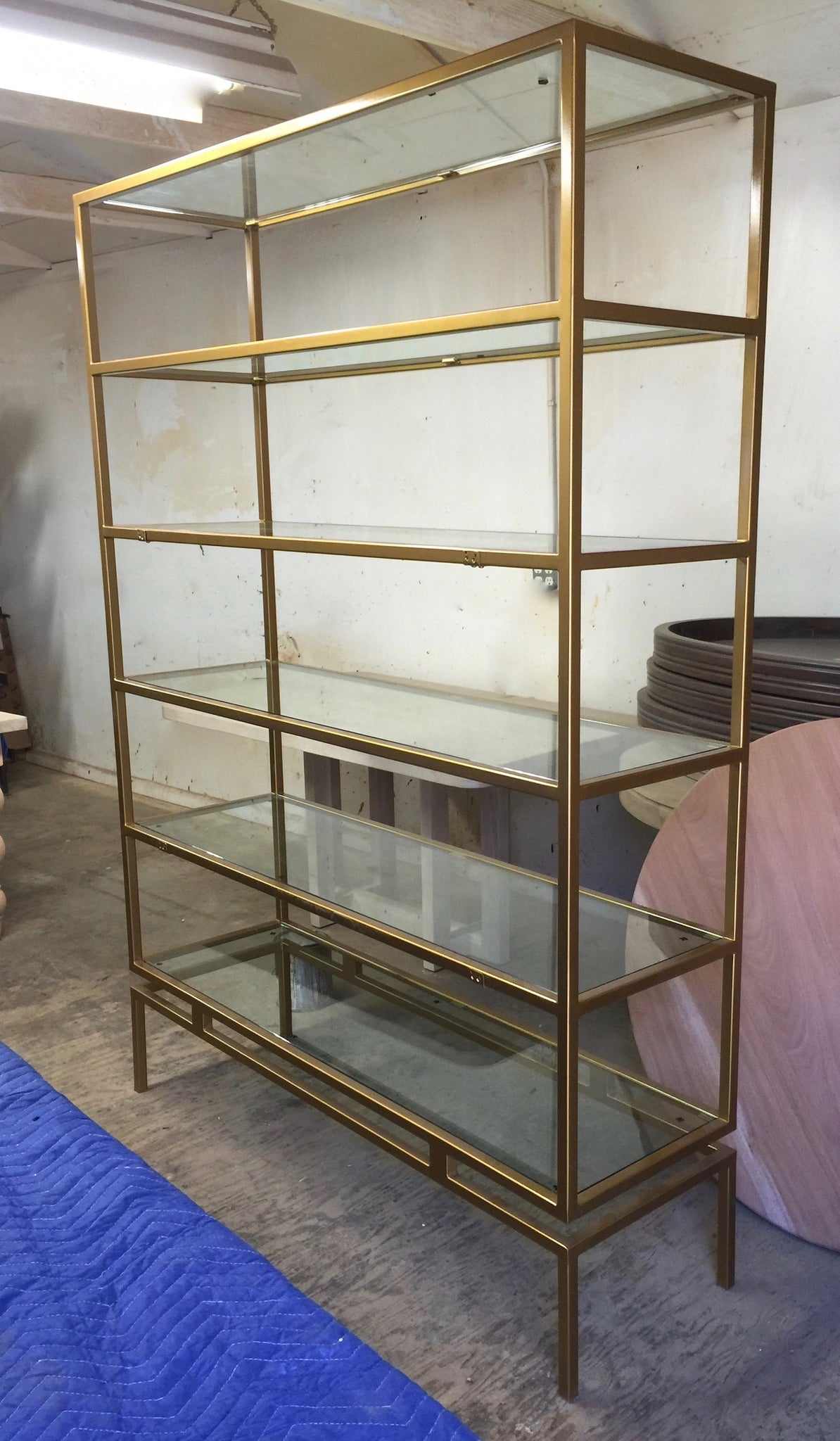 Lots of Custom Metal Bookcases