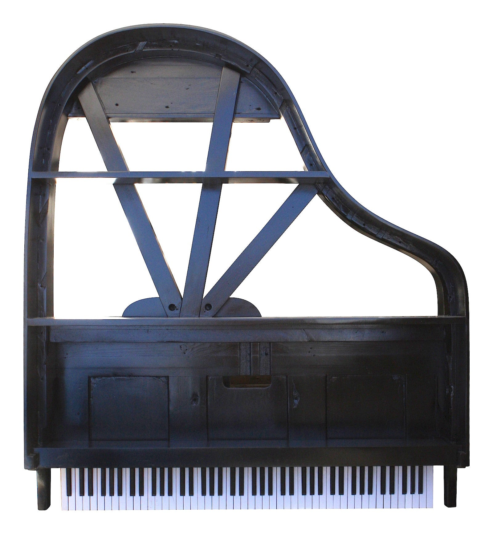 Grand Piano Bookcase