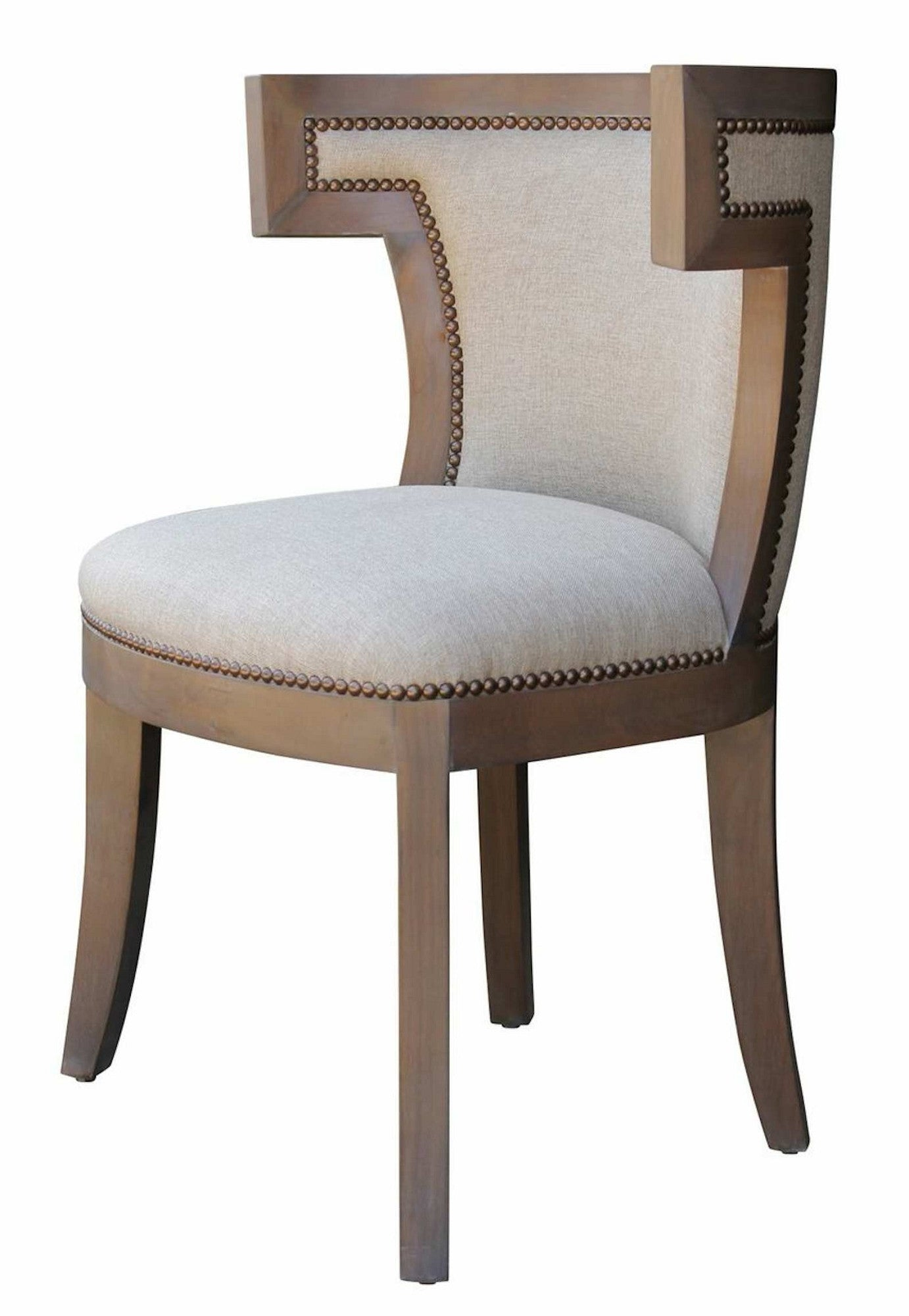 Barrymore Dining Chair dramatic barrel back