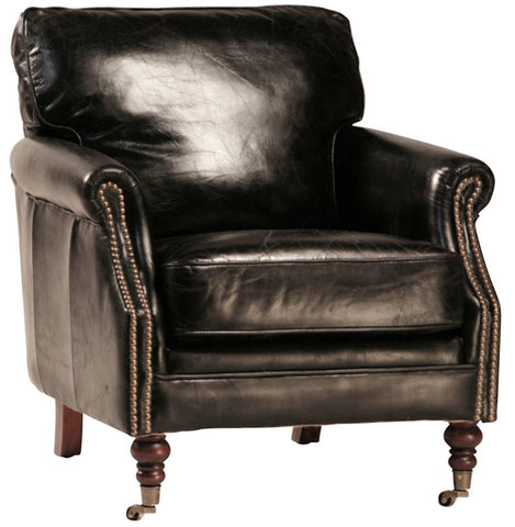 Hartford Club Chair (Black)