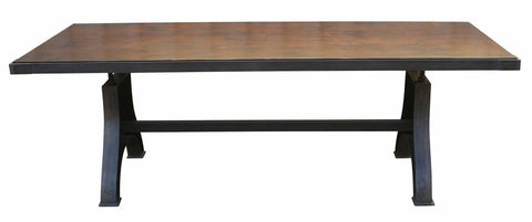 Urban Industrial Dining Table made in Los Angeles