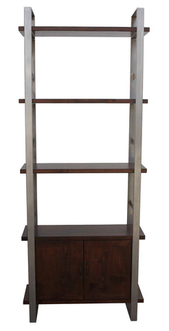 Hoyt Metal and Wood Bookcase