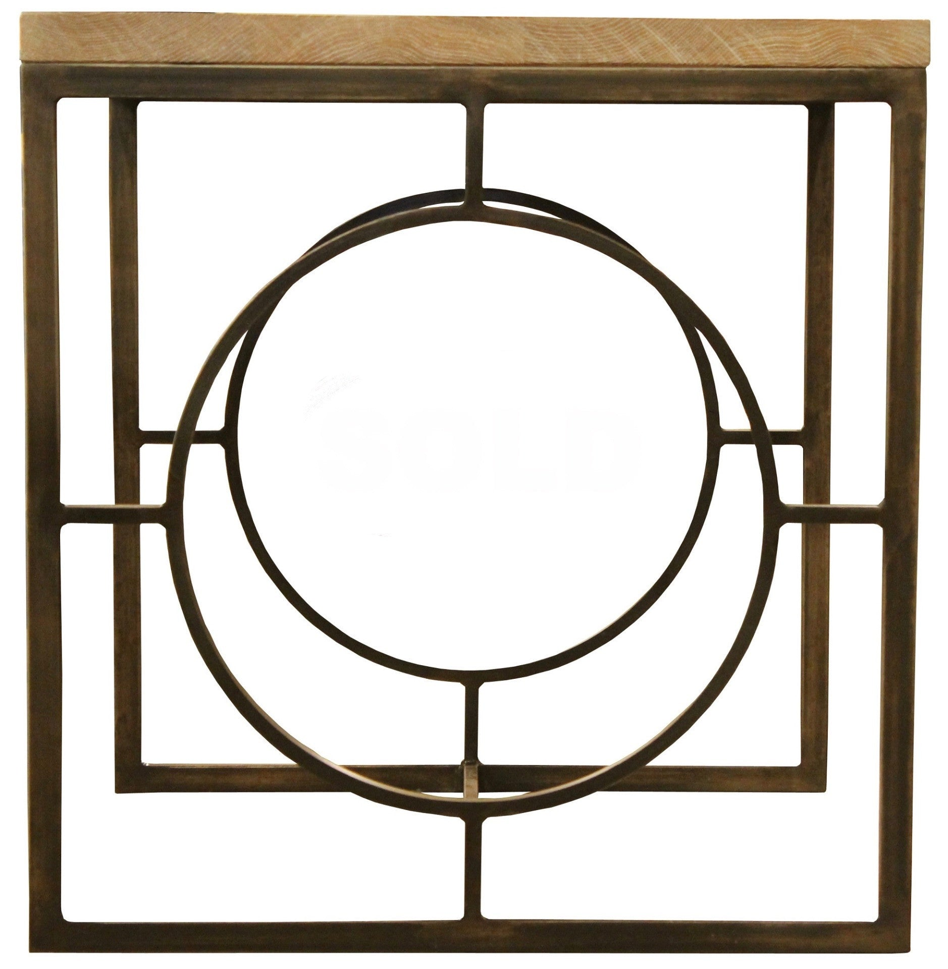 Art Circle Side Table