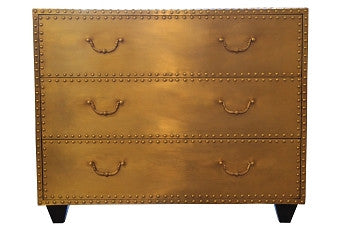 Bronze Nailhead Chest