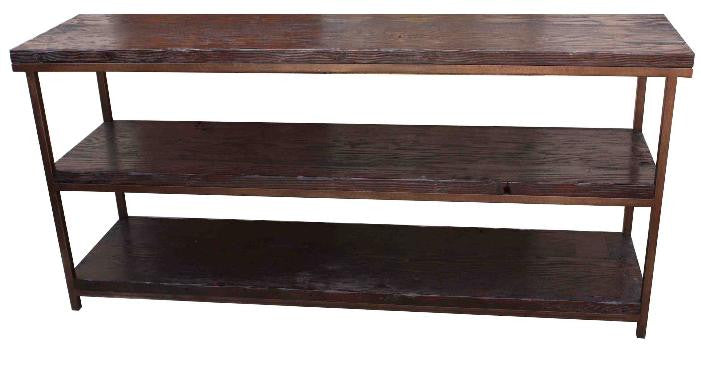 Hudson Industrial Bookcase