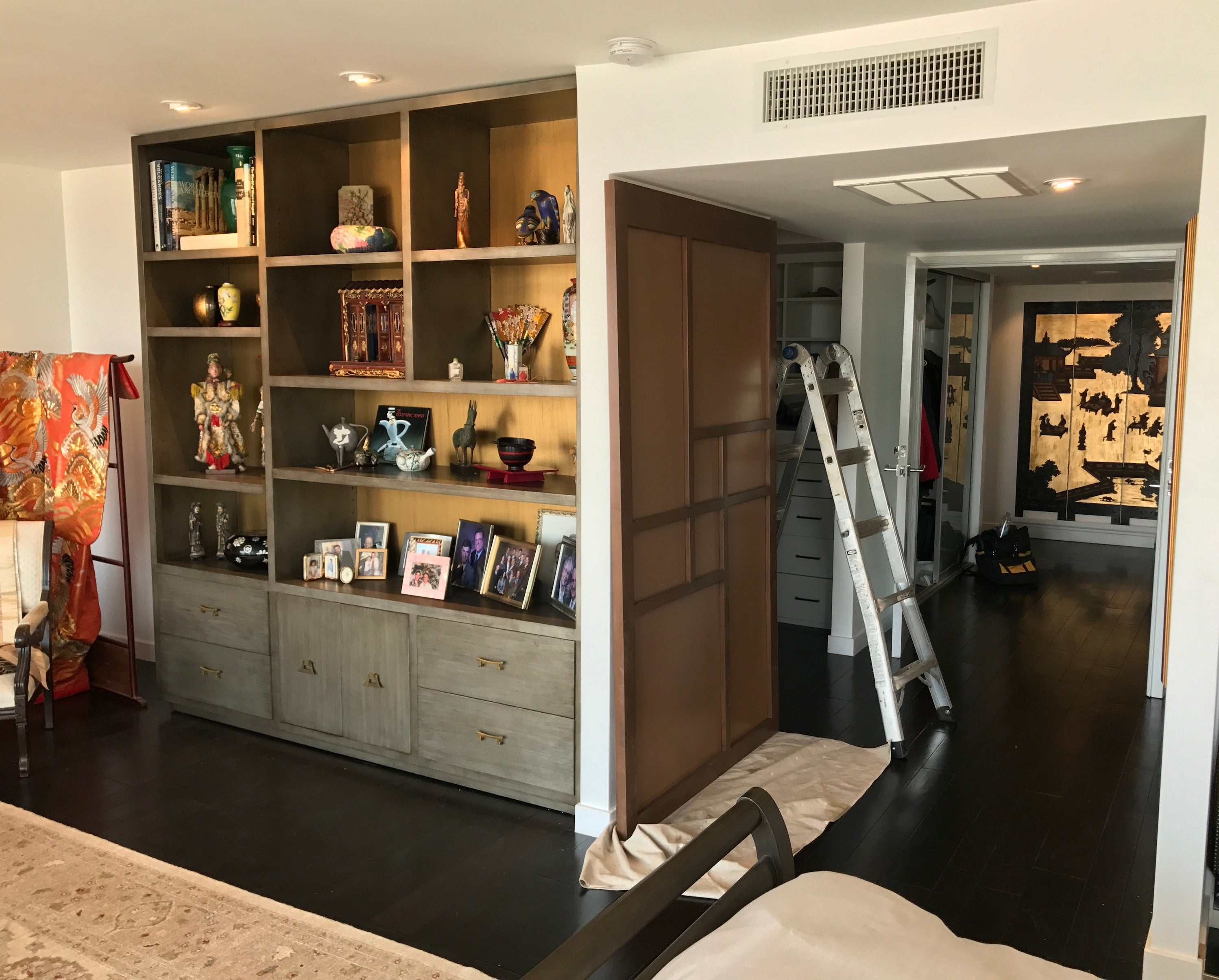 ... Asian Inspired Bedroom Bookcase