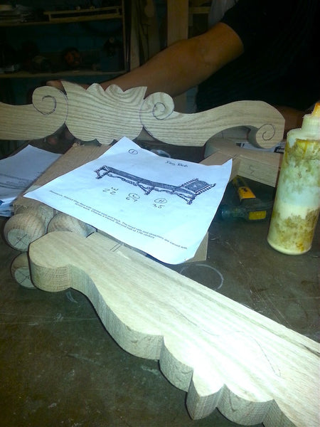 It All Starts With A Drawing And Templates Mortise Amp Tenon