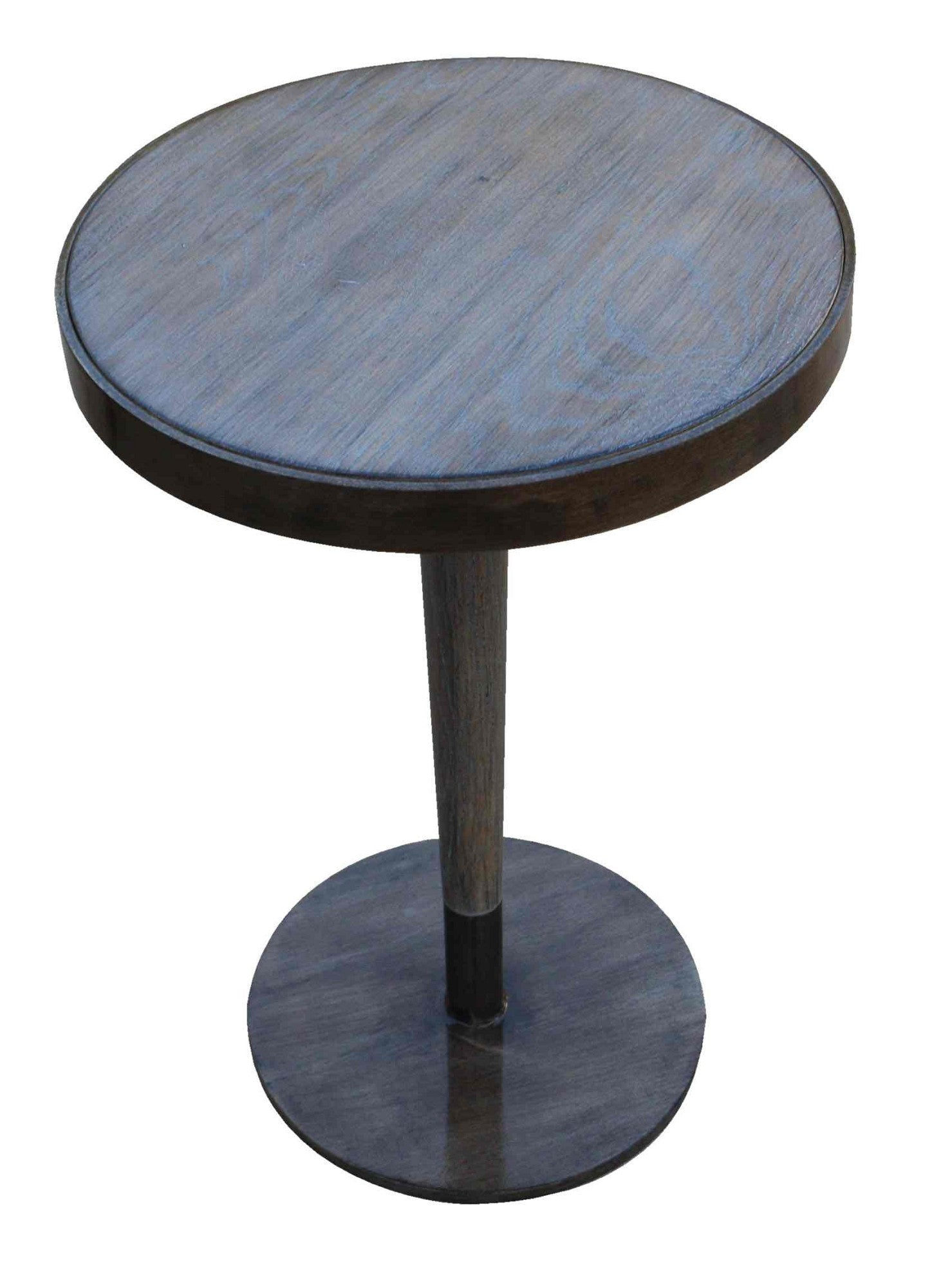 White Oak Industrial Side Table