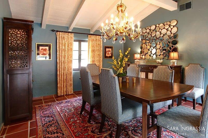 La Canada Custom Designed Dining Room