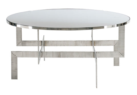 Tessa Stainless Steel Coffee Table