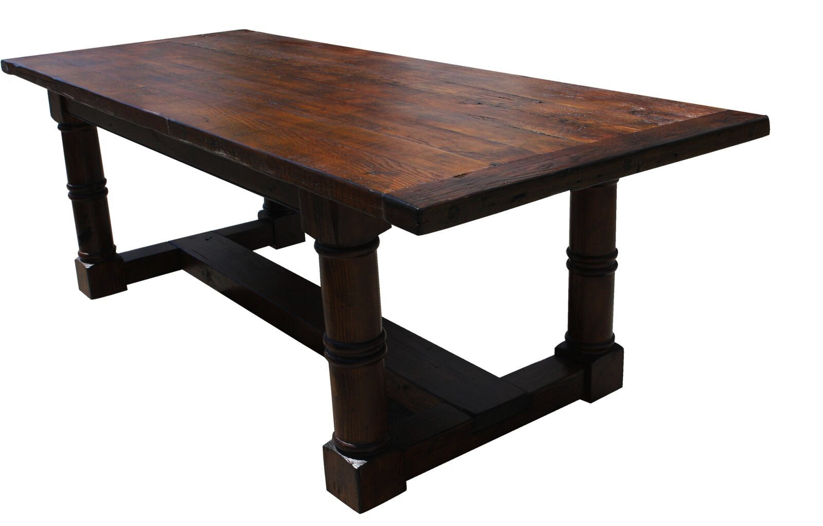 Modern Custom Hand Crafted Table Made from Reclaimed Wood