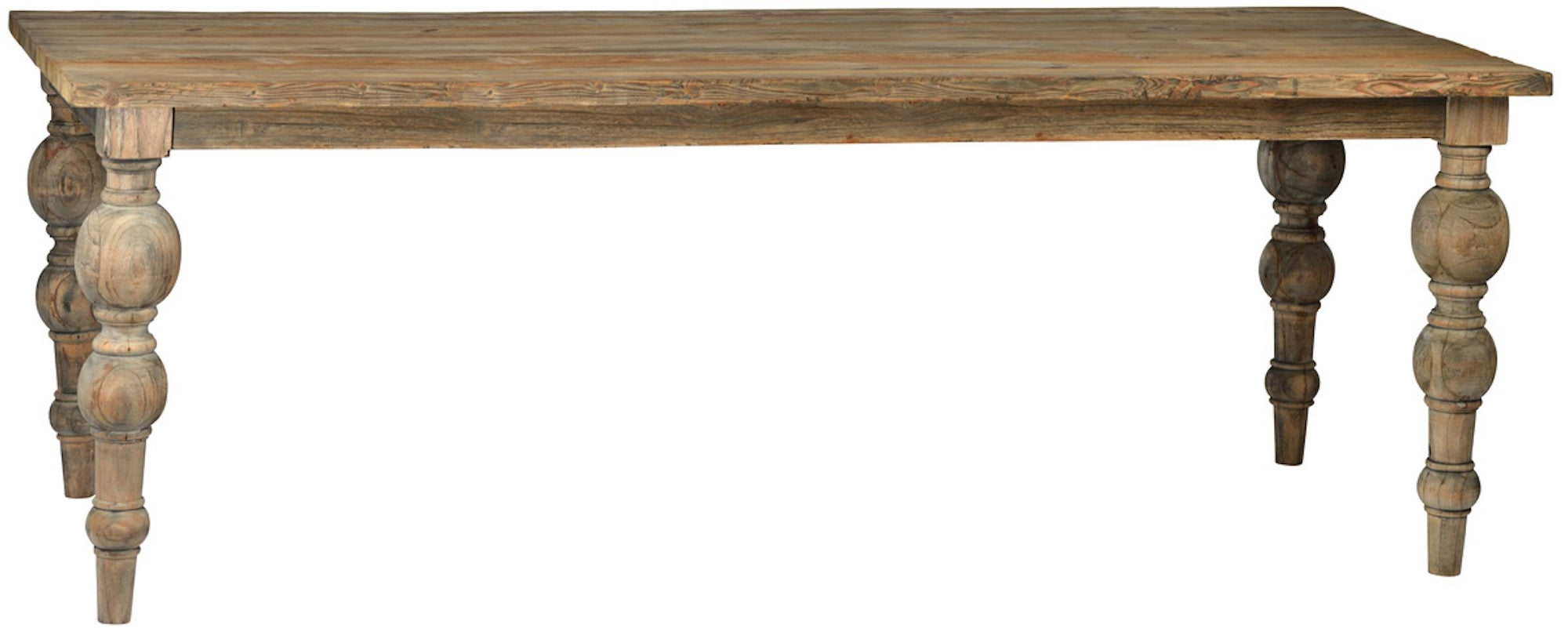 Savannah Reclaimed Wood Dining Table – Mortise & Tenon