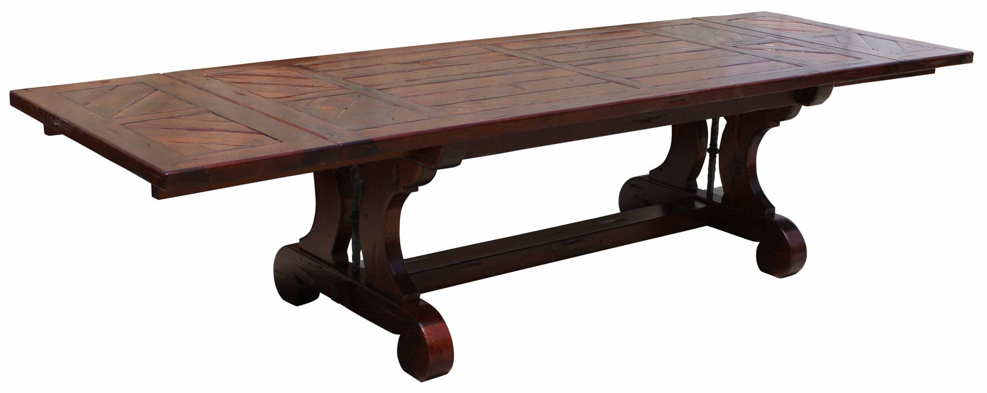 Dining tables page 2 mortise tenon for Table exterieur lourde