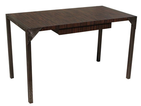 Macasar Veneer Home Office Desk