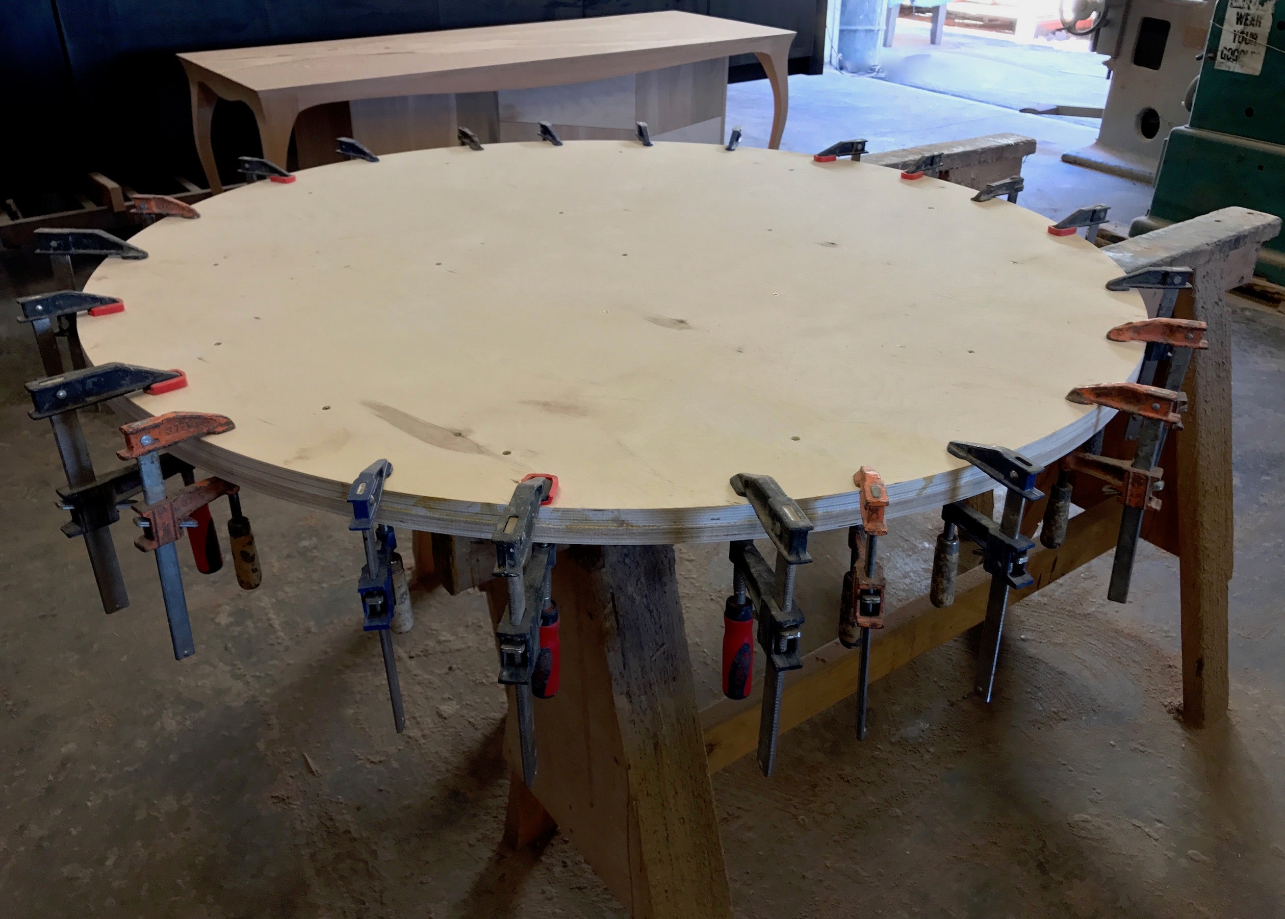 ... Zinc Top Dining Tables ...