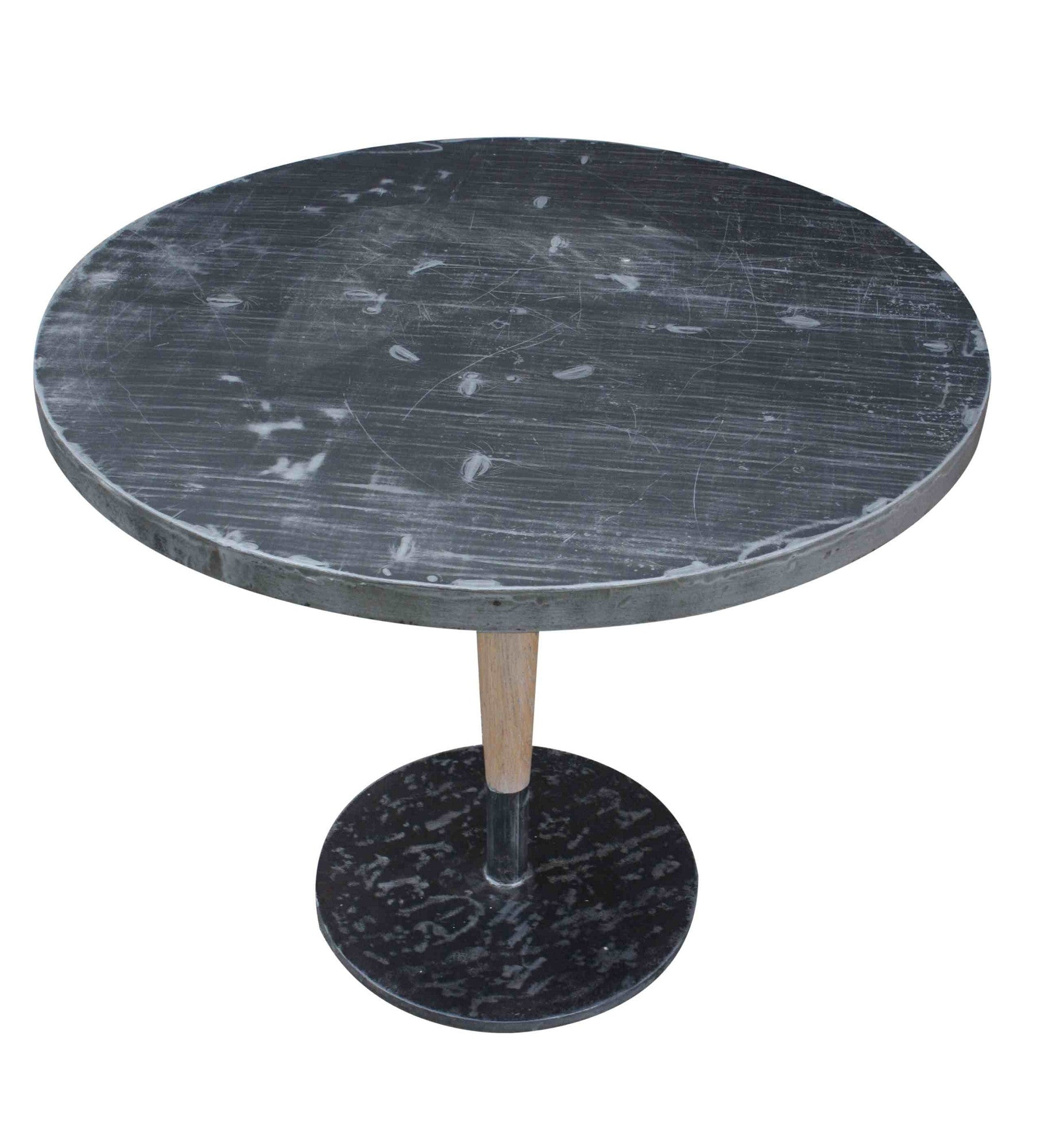 "Metal Top 38"" Round Bistro Table"