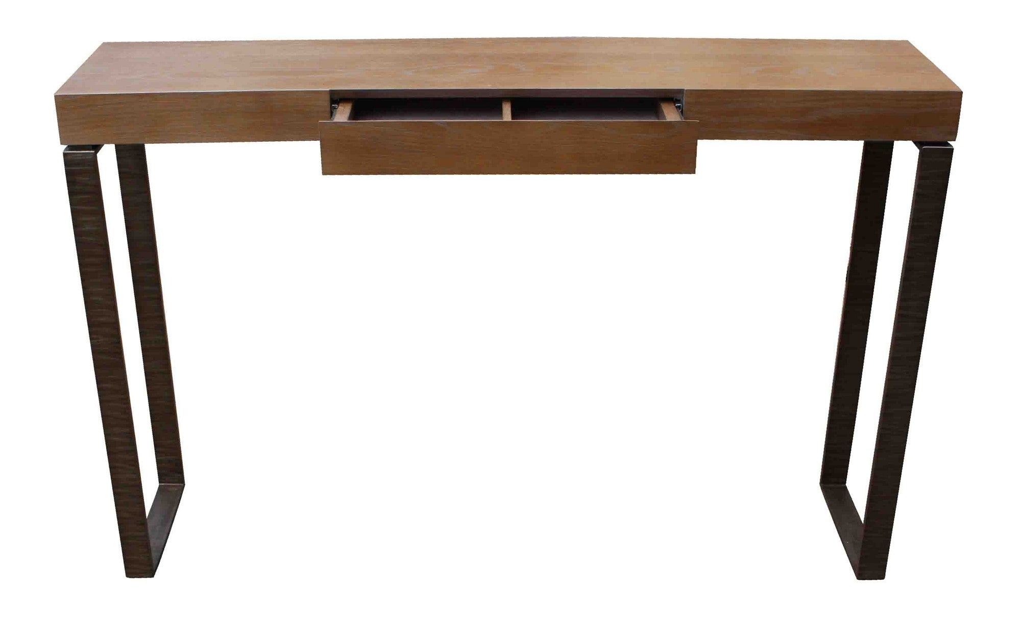 Metal wood console mortise tenon metal wood console geotapseo Images