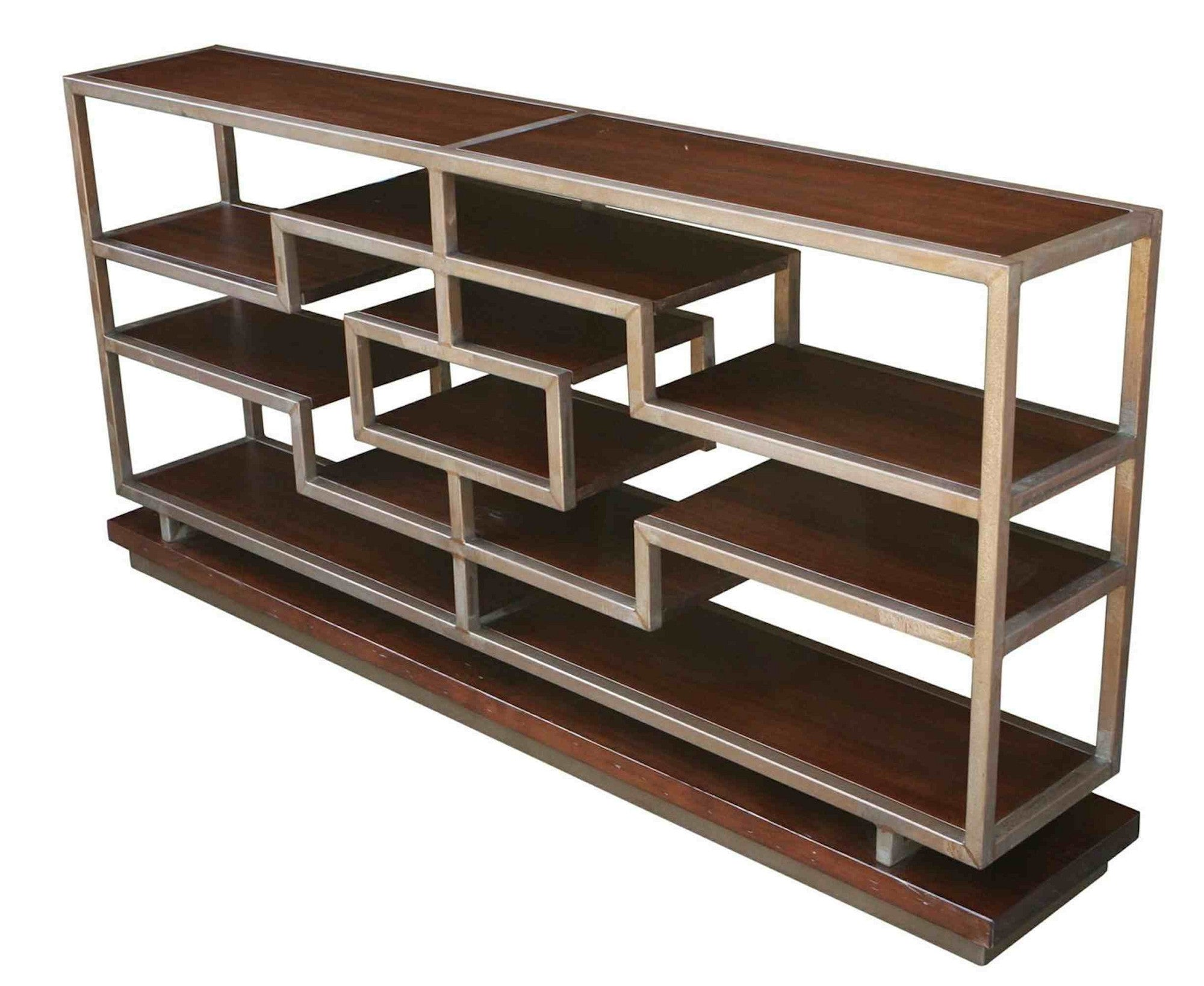 ^ Mid-entury Modern onsole Bookcase : asablanca – Mortise & enon