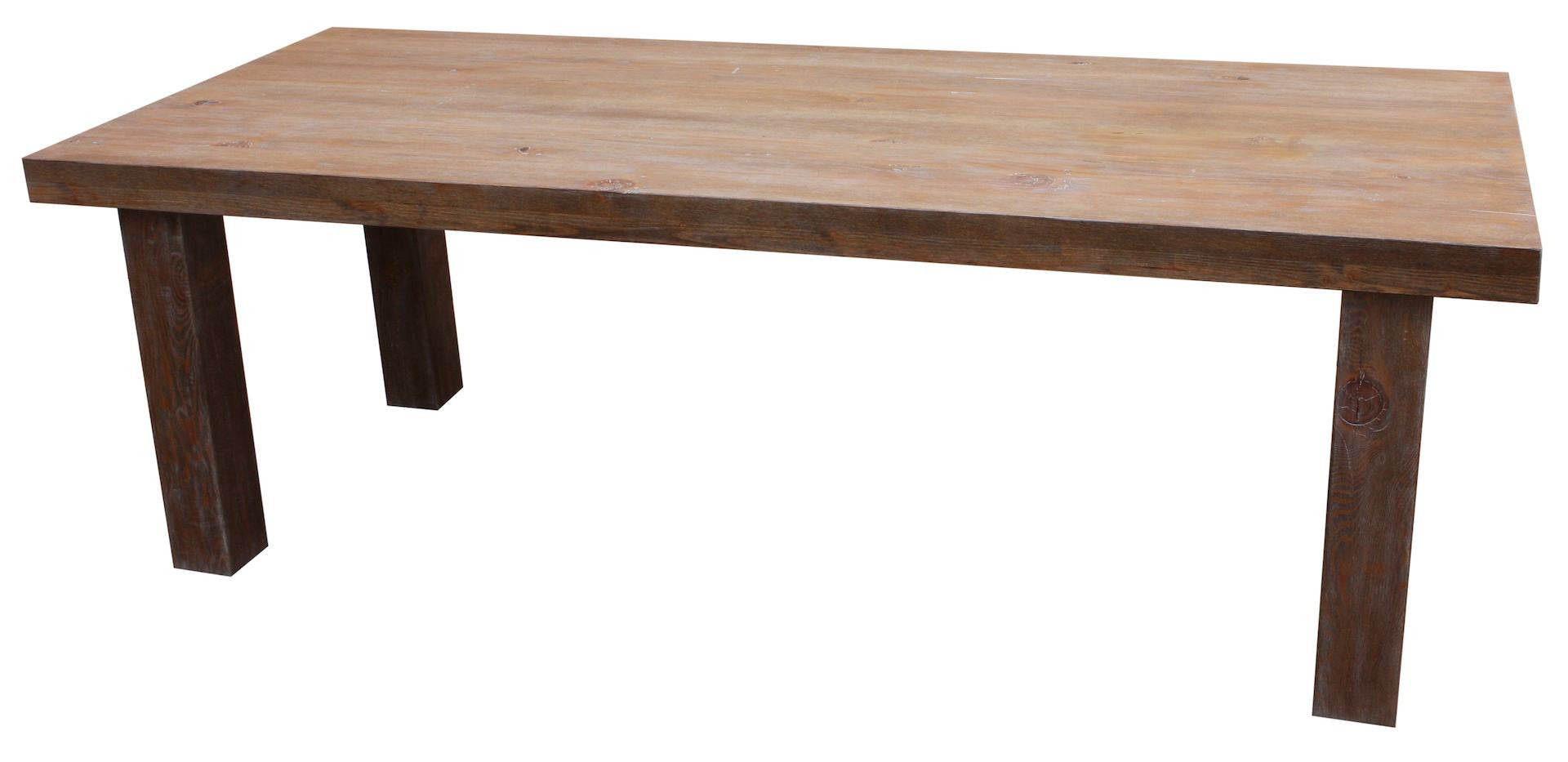 Loft Dining Table in Reclaimed Wood. Dining Tables   Mortise   Tenon