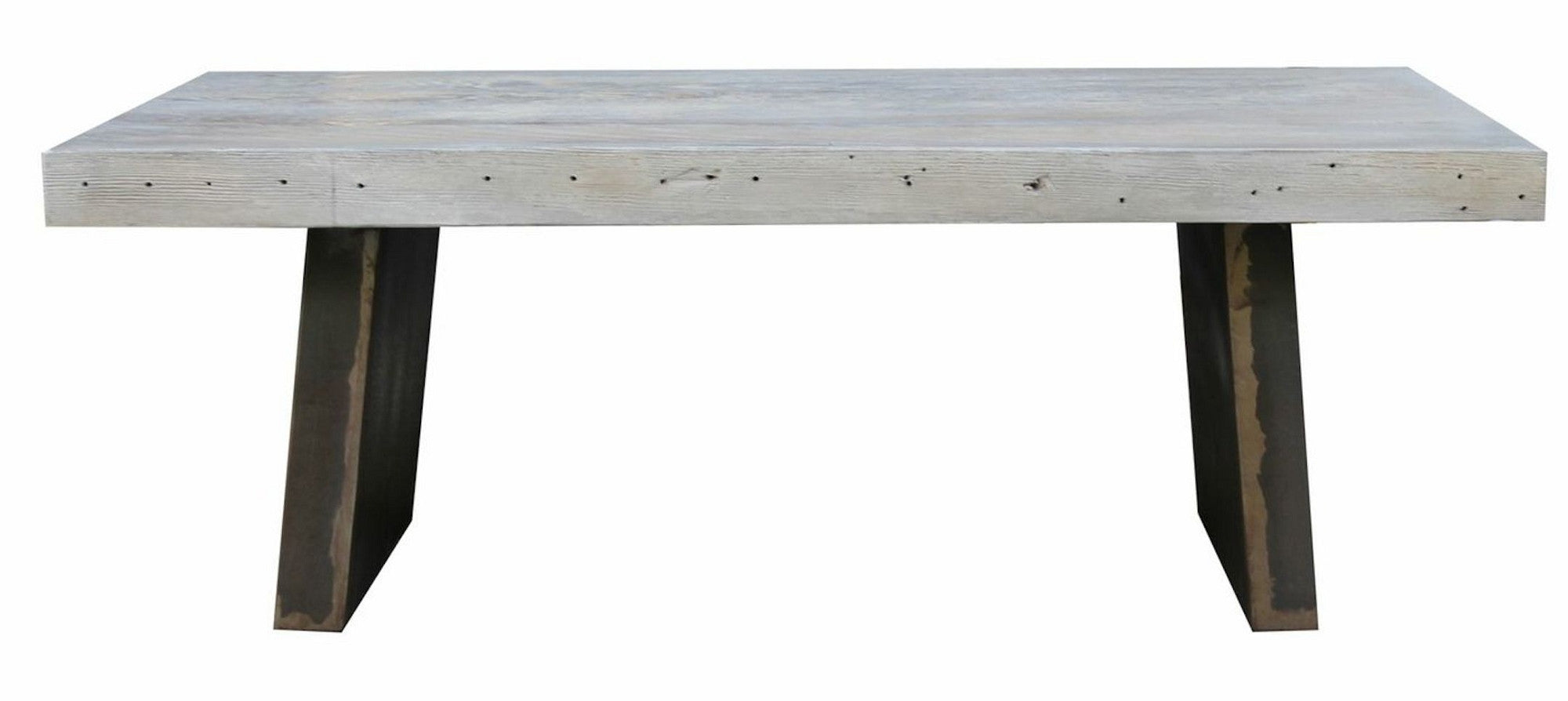 Vintage modern reclaimed wood coffee table mortise tenon vintage modern reclaimed wood coffee table geotapseo Image collections