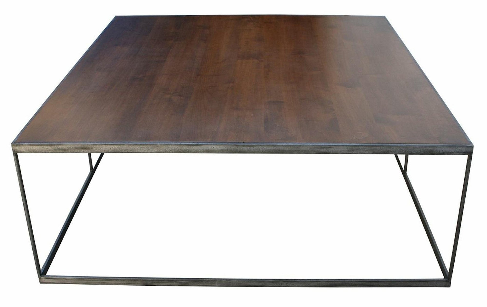 industrial modern coffee table mortise tenon