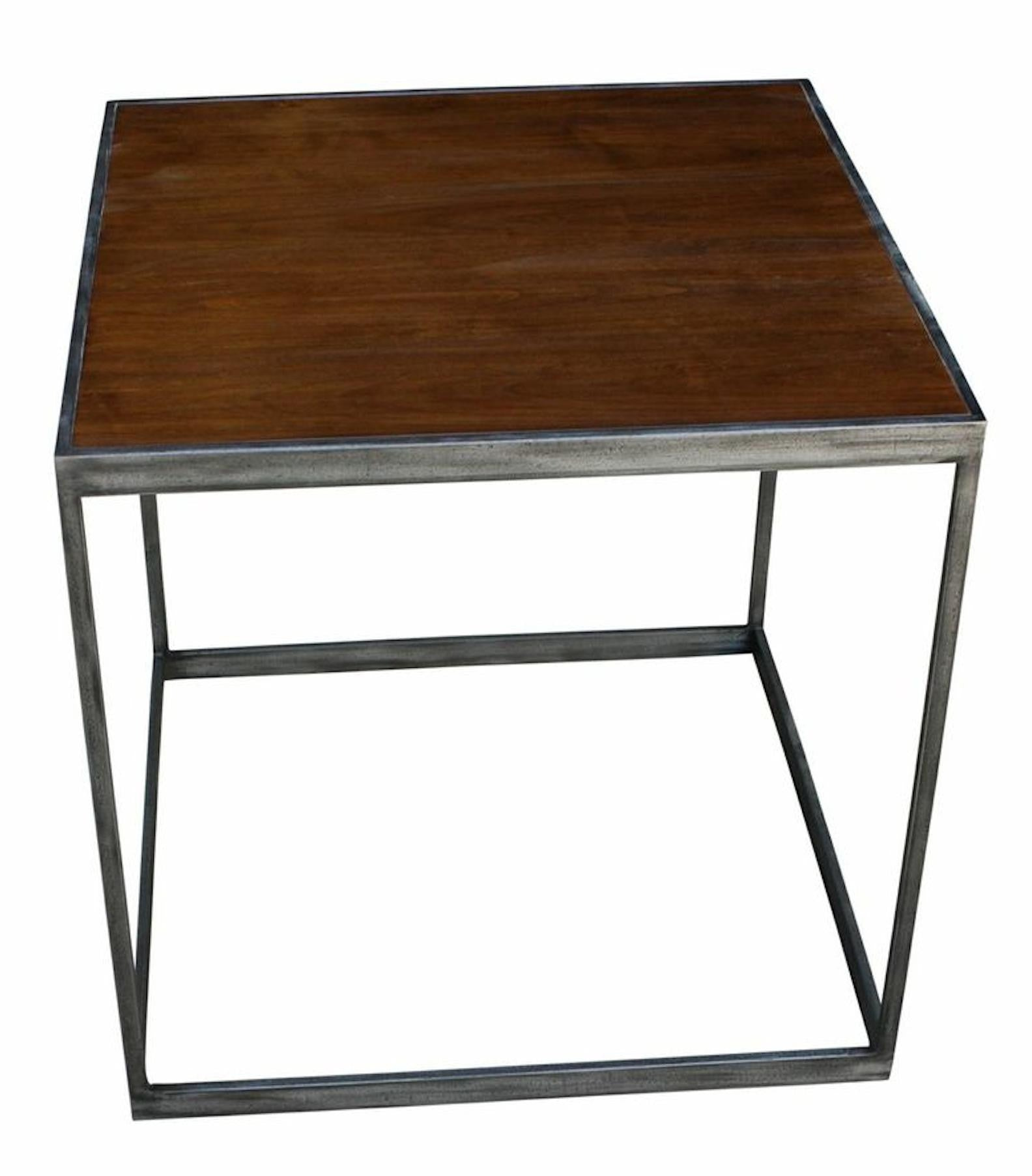 Industrial Modern End Table