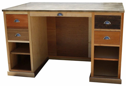 Modern Multi Wood Artist Desk
