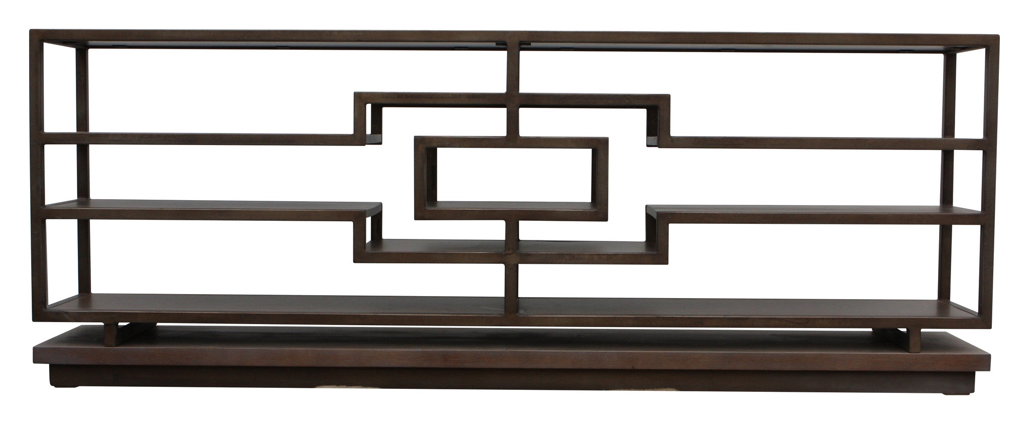 Wonderful image of  Shelves Black Metal Frames Brown Wooden And Wood Splendid Ideas Of Woo with #342B24 color and 2048x845 pixels