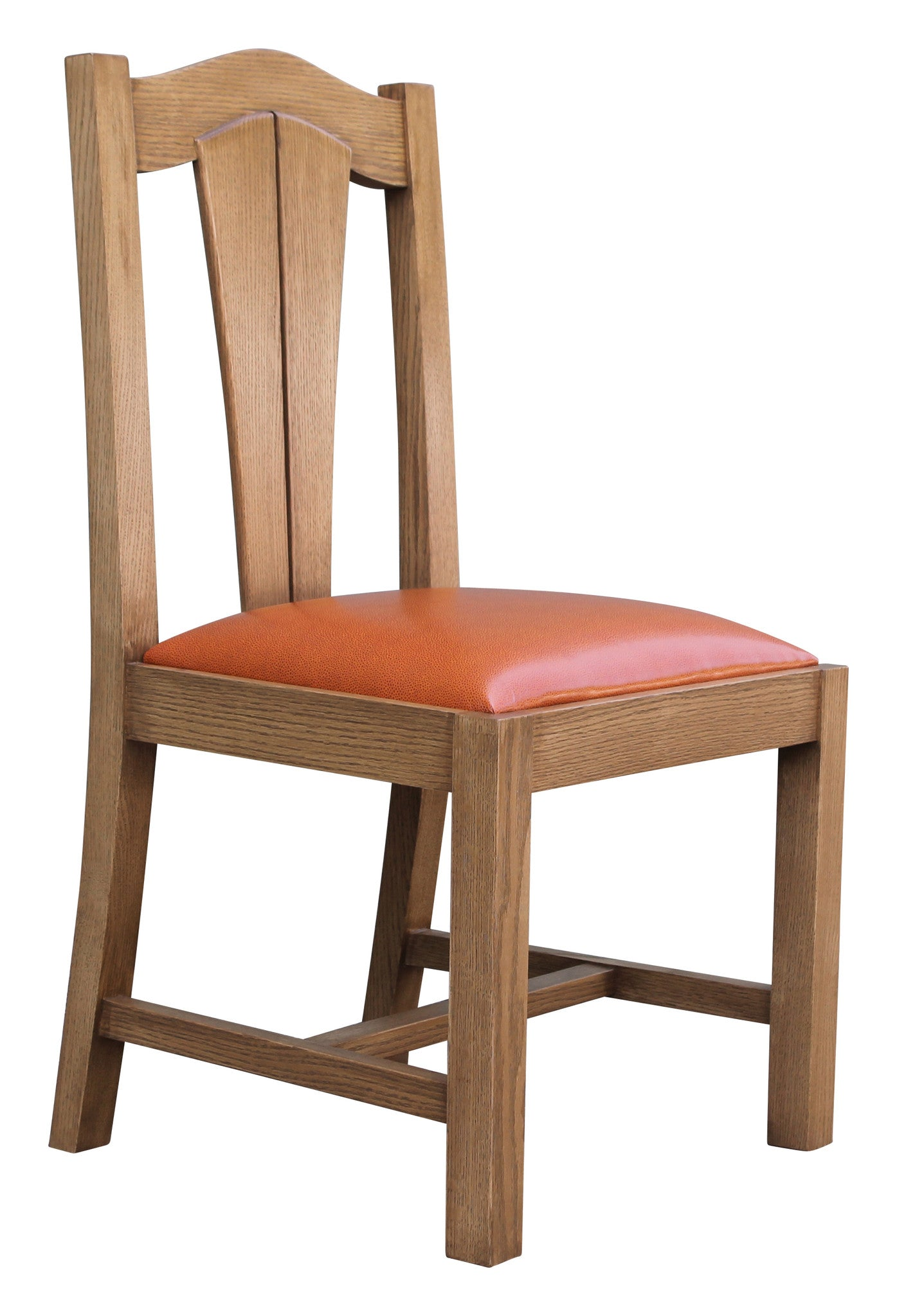 Oak Wood Mission Dining Chair – Mortise & Tenon