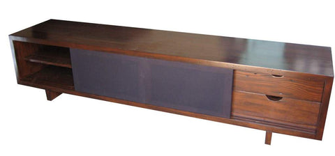 Manhattan Modern Media Cabinet in Reclaimed Wood